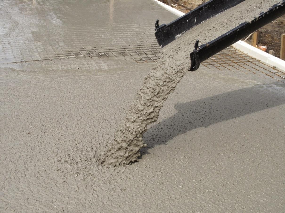 Язык бетона железнодорожный бетон завод